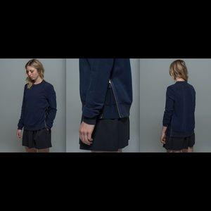 Lululemon Future Varsity Pullover Inkwell sz 6 NWT